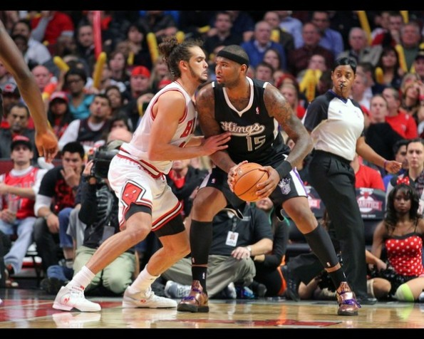 NBA: Sacramento Kings at Chicago Bulls